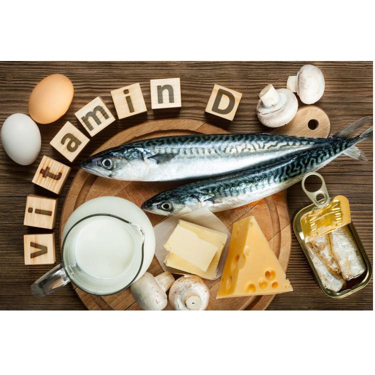 ビタミンDの食材