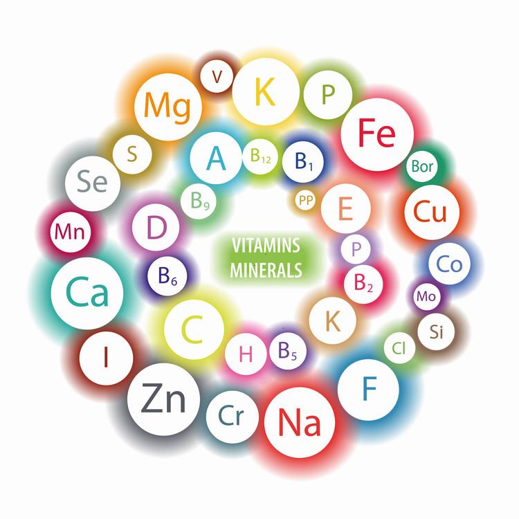 ビタミン・ミネラルの種類