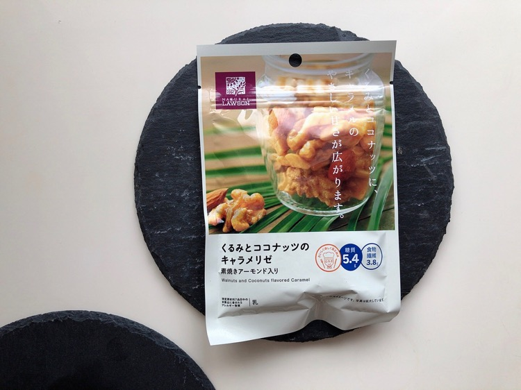 ローソン【くるみとココナッツのキャラメリゼ】