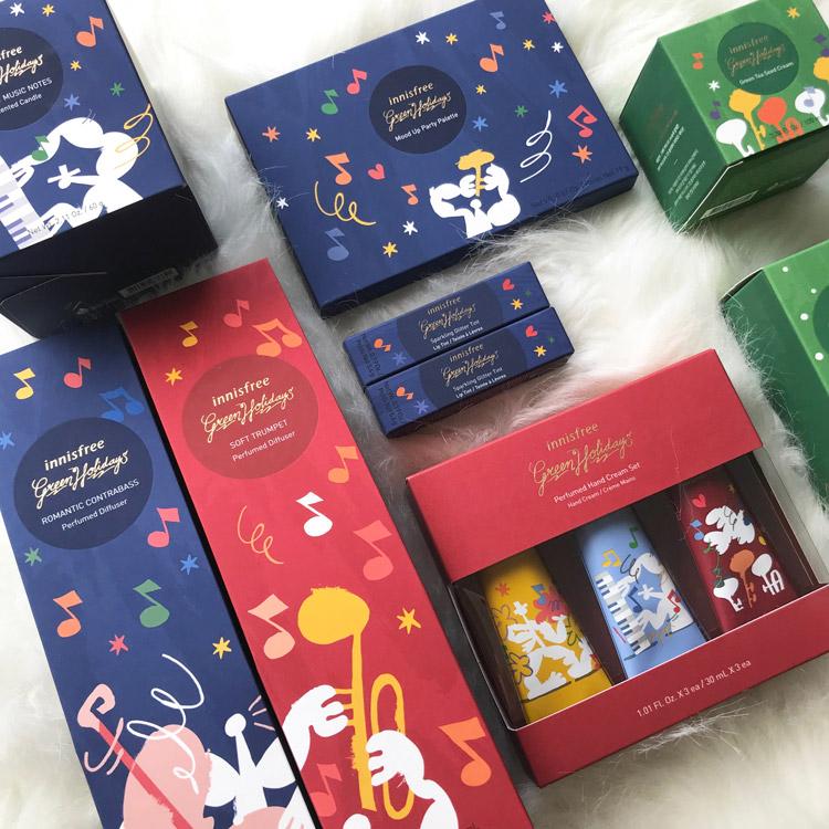イニスフリーのわくわくが詰まった限定コレクション『Green Holidays(グリーンホリデー)』2019年11月1日(金)より発売開始