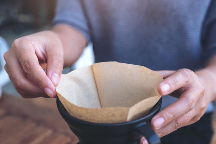 コーヒーフィルターを使った加湿器を作る