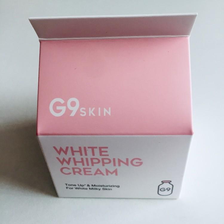 G9SKIN ホワイトホイッピングクリーム
