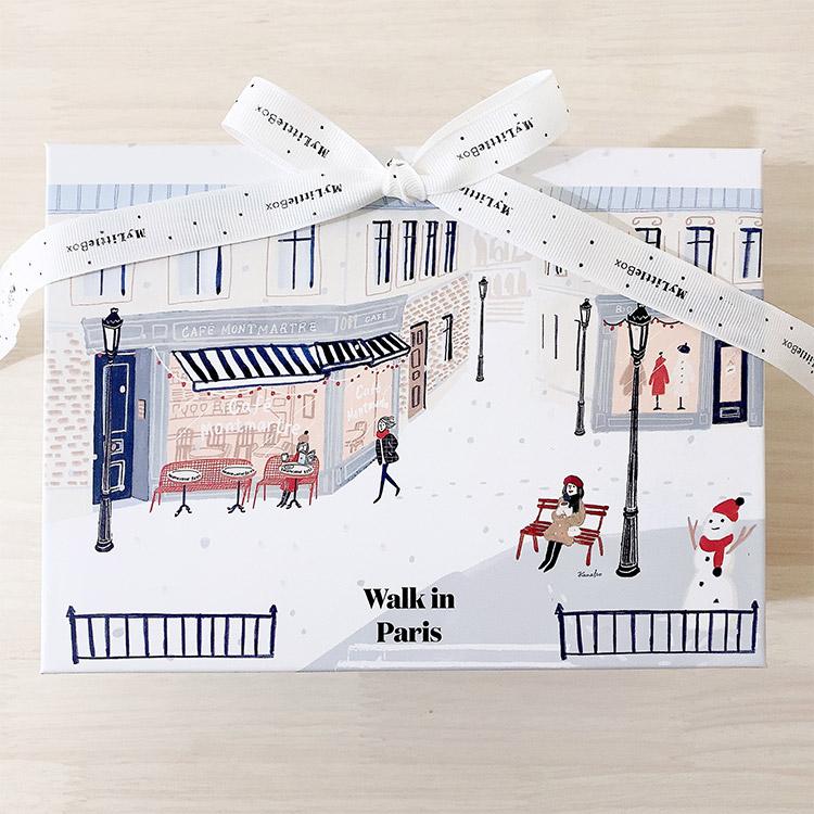 パリの街を歩いている気分を満喫しよう