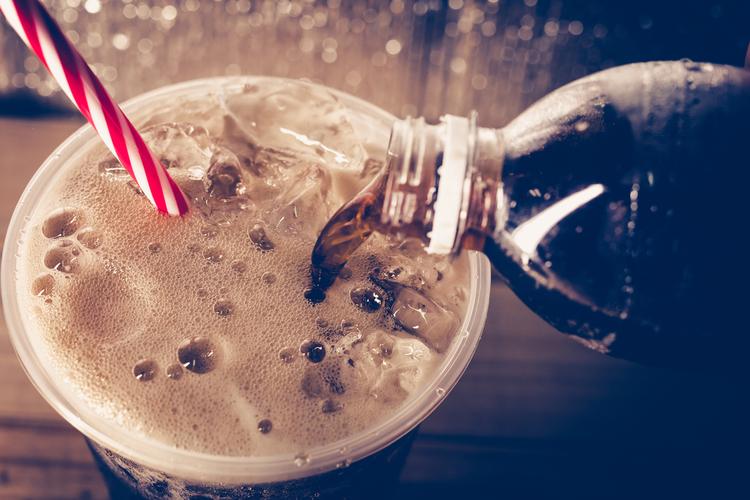 甘い飲み物