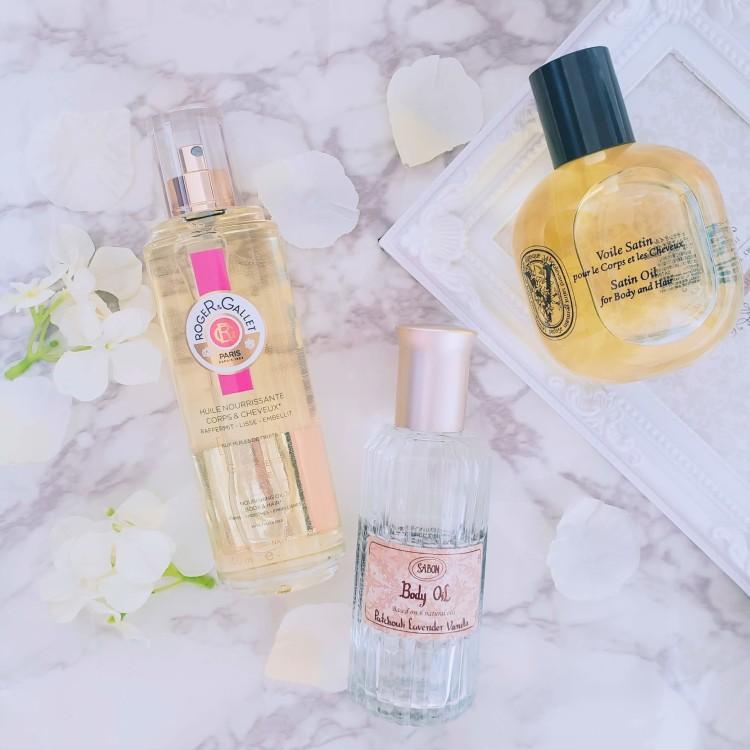 フレグランスのように楽しめる!フェミニンで幻想的な香りのボディオイル3選