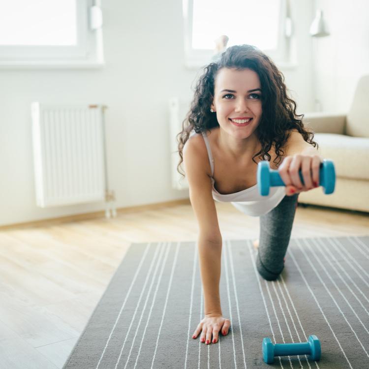 室内でできるひとり運動ダイエット!!