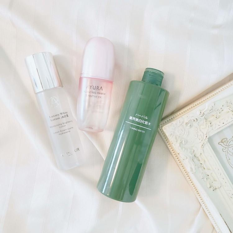 みずみずしい潤いでお肌に透明感を!紫外線の気になる季節に使いたい化粧水3選
