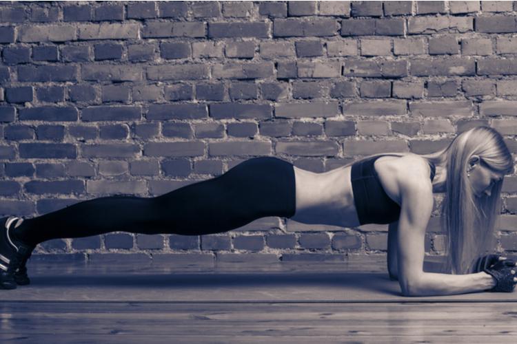 インナーユニット「腹横筋」を鍛えるプランク