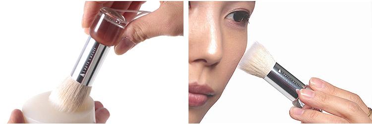 洗顔ブラシのやわらかさと美容液の保湿力に驚く