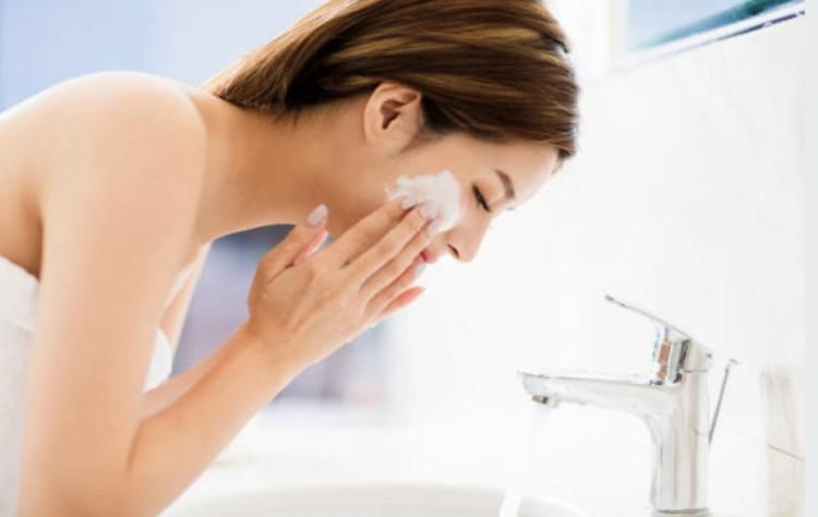 朝洗顔のメリット