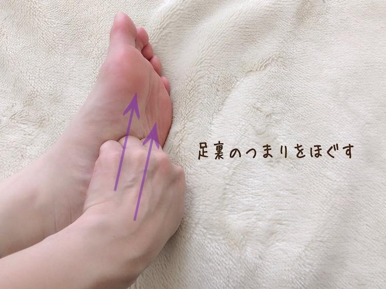 足の冷え、むくみに効果的なマッサージ&ストレッチ1