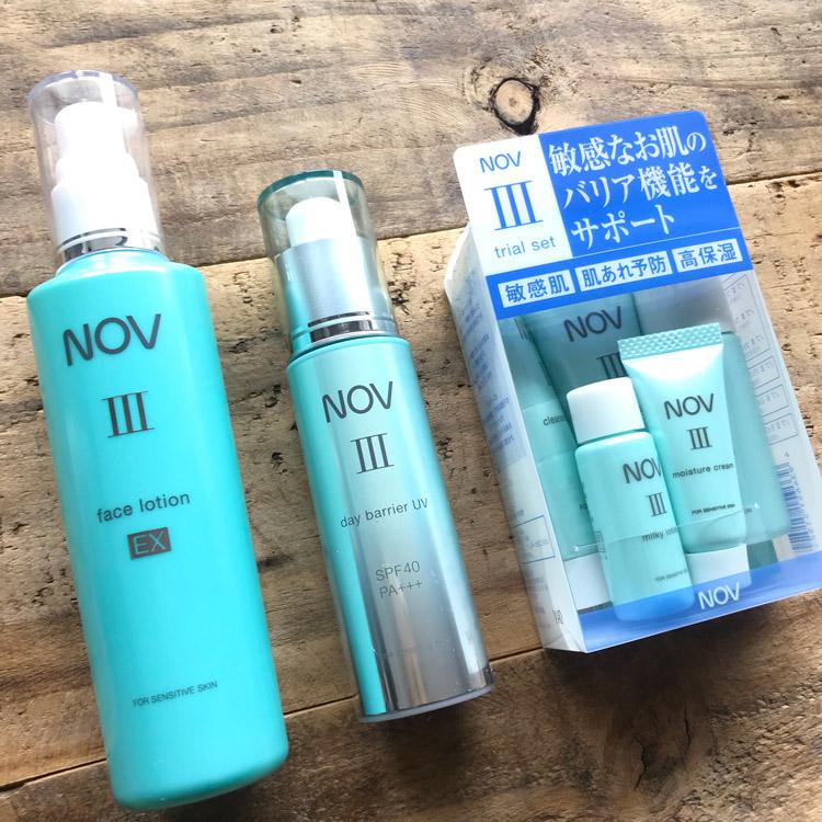 「皮膚のバリア機能」に着目したノブIIIシリーズに新製品発売