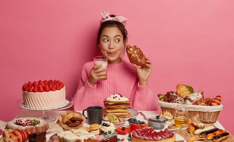 食べることが生き甲斐の生活