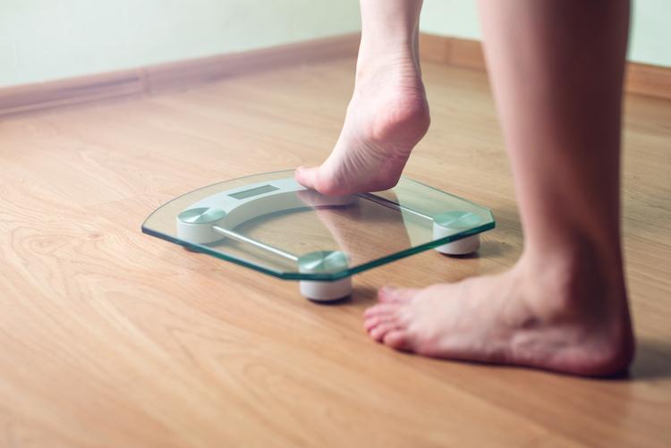 目標体重を決める