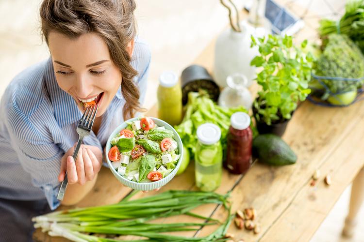 野菜を積極的に摂る