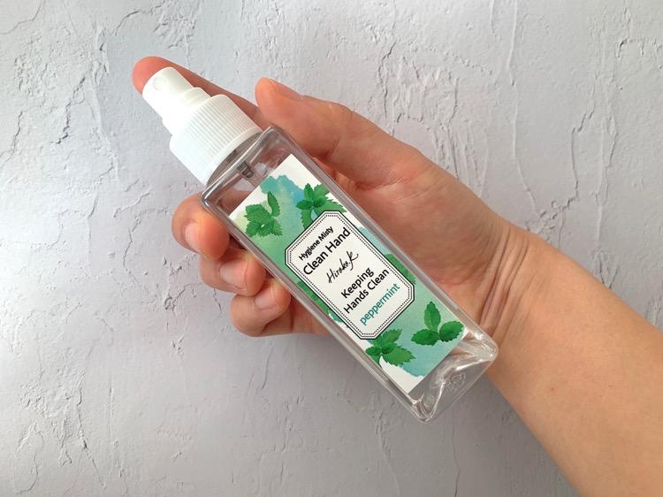 万人受けする香りでみんなで使えるアルコールスプレー