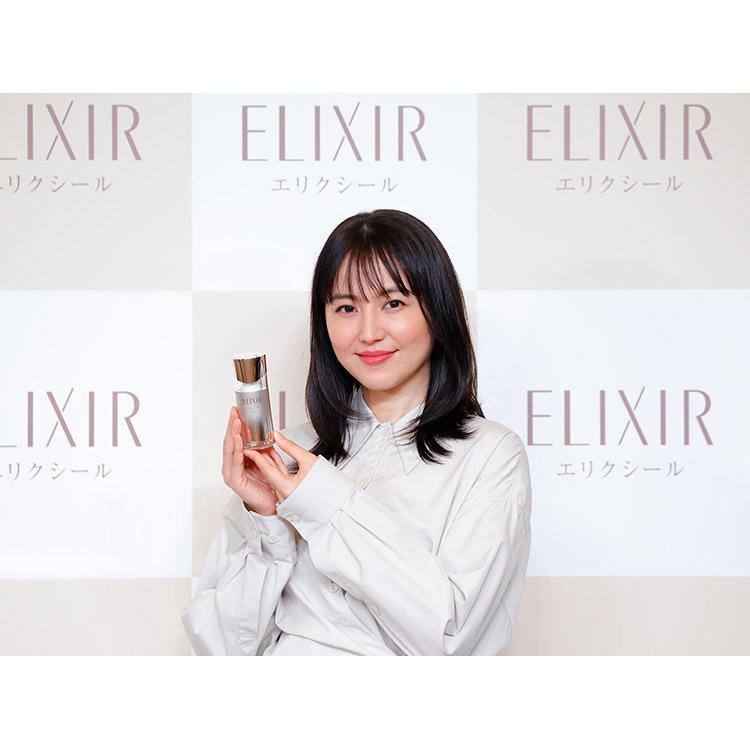 資生堂『エリクシール』の新ミューズは長澤まさみさん!ゆるみの兆しに挑む新美容液「デザインタイム美容液」発売へ【2020年8月21日】