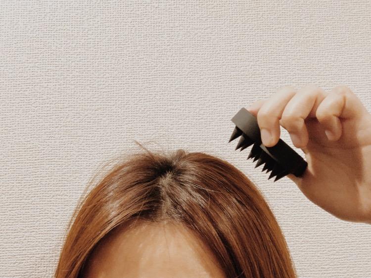 乾いた髪でも使用可能