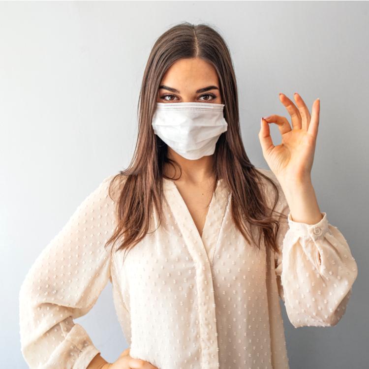 マスクによる肌荒れ急増中!原因と解決策