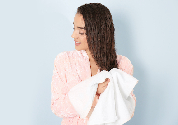 正しい髪の毛の乾かし方