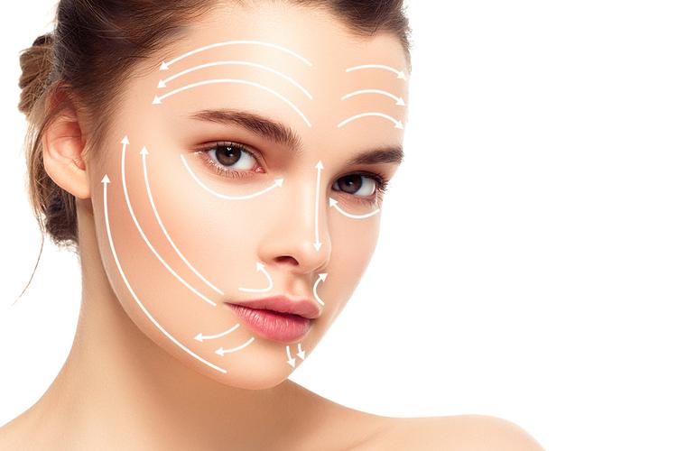 皮膚温を1℃上げる顔マッサージ方法