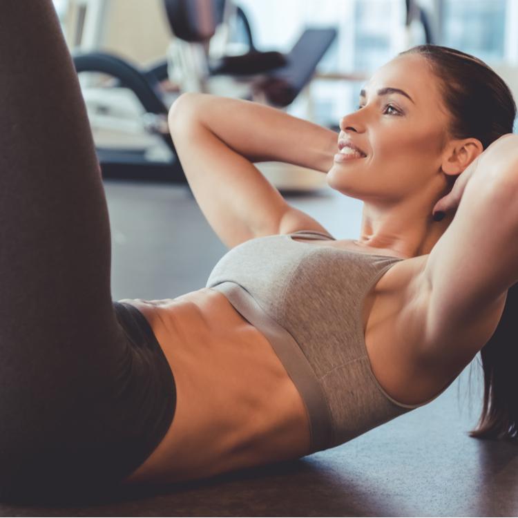 「お腹痩せ」と「腰痛予防」の2つの効果が得られる腹筋エクササイズ