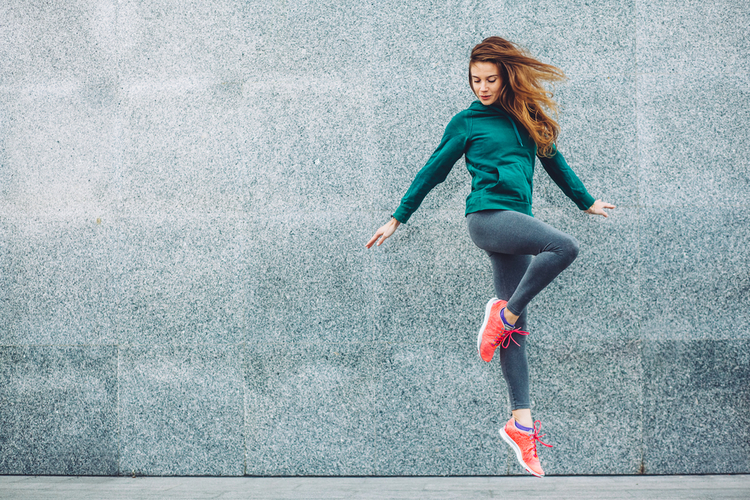 適度な運動で新陳代謝を活発にする