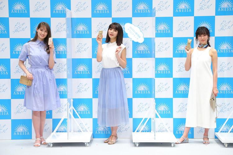 新ミューズ・池田エライザさん、水川あさみさん、トラウデン直美さん登場