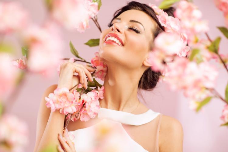 春カラーで自分も周りも明るく