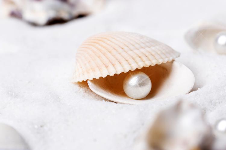真珠パウダーを配合