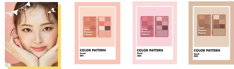 カラーパターンパレット