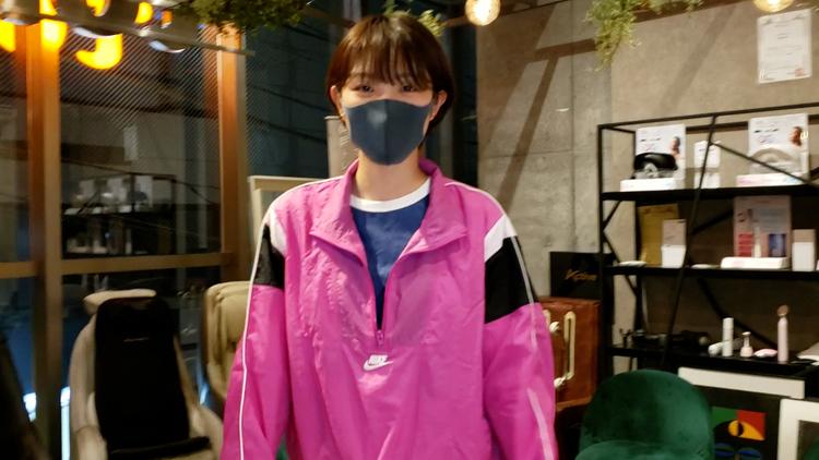 モデルの小倉夏海さん