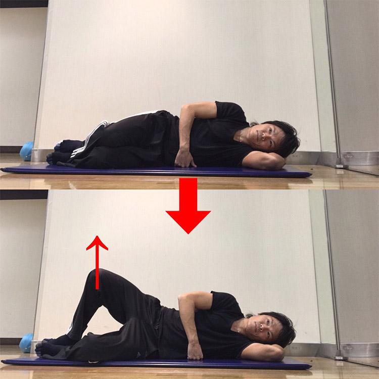 股関節外旋筋群を強化するエクササイズ