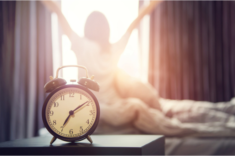 起きる時間を決める