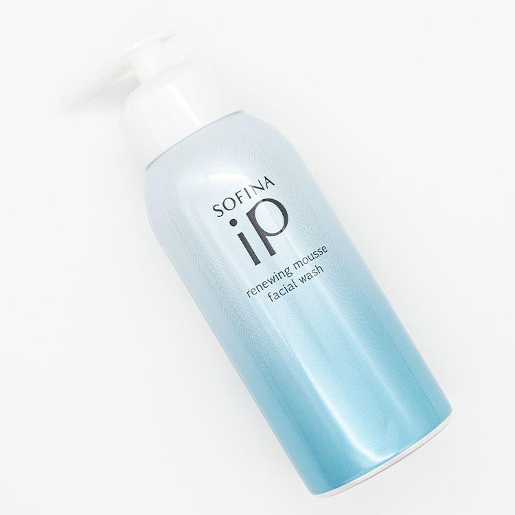 """『ソフィーナ iP』うるおって明るい肌へと導く""""炭酸100%""""の泡洗顔「リニュー ムース ウォッシュ」新発売【2021年9月11日(土)】"""